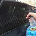 マグアイアーズ パーフェクトクラリティガラスクリーナーを使う。