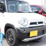 SUZUKI ハスラー Fリミテッドの試乗に行ってきました。
